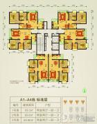 贵阳理想城2室2厅1卫0平方米户型图