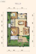 白鹿溪谷4室2厅2卫157平方米户型图