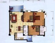 花城悦翠园3室2厅3卫104平方米户型图