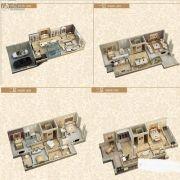 金辉城江城著4室2厅3卫308平方米户型图