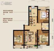 乐都新城3室2厅1卫101平方米户型图