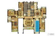雅居乐滨江国际6室3厅6卫502平方米户型图