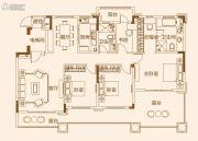 济南恒大龙奥御苑4室2厅2卫162平方米户型图