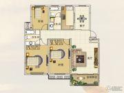 陶然经典3室2厅1卫117平方米户型图