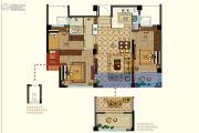 恒威肯特国际社区3室2厅1卫86平方米户型图