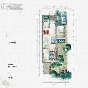 大汉汉园111平方米户型图