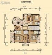 中海黄金海岸358平方米户型图