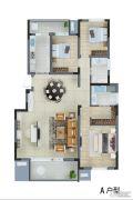 骋望云邸4室2厅2卫158平方米户型图