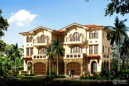 四栋别墅设计图