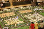 建博花园沙盘图
