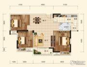 香樟里3室2厅2卫110平方米户型图