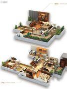 龙湖拉特芳斯3室2厅2卫75平方米户型图