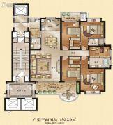 观海居5室2厅2卫229平方米户型图