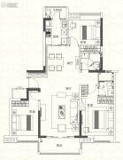 奥园香雪华府3室2厅2卫127平方米户型图