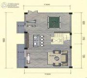 光大山湖城花园2室2厅3卫0平方米户型图