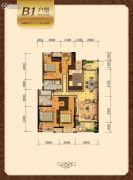 荷园丽都4室2厅2卫137--138平方米户型图
