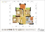 华宇上院57平方米户型图