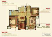 明月湾3室2厅1卫88--95平方米户型图