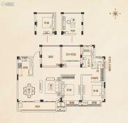 九龙仓碧堤半岛4室2厅2卫140平方米户型图