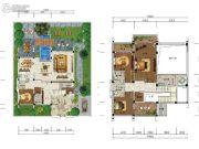 雅居乐云南原乡4室2厅5卫301平方米户型图