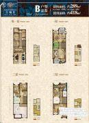 金辉城江城著4室2厅3卫289平方米户型图