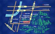 锦秀蓝山交通图