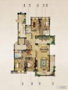 保利原乡4室2厅3卫248平方米户型图