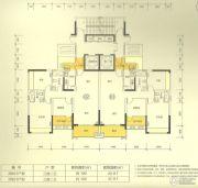 新澳城市花园3室2厅2卫100--140平方米户型图