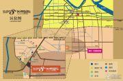 现代明珠新城・加州国际交通图