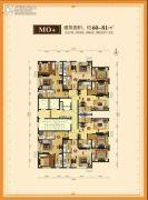 华润凯旋门1室1厅1卫0平方米户型图