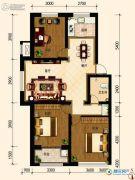 古御壹号3室2厅1卫103平方米户型图