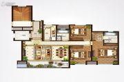 鸿园3室2厅2卫0平方米户型图