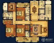 海星御和园4室2厅4卫244平方米户型图