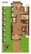 八达岭孔雀城・天赋山房158平方米户型图