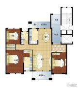 亚龙湾东湖3室2厅2卫164平方米户型图