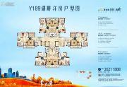 碧桂园映象73--101平方米户型图