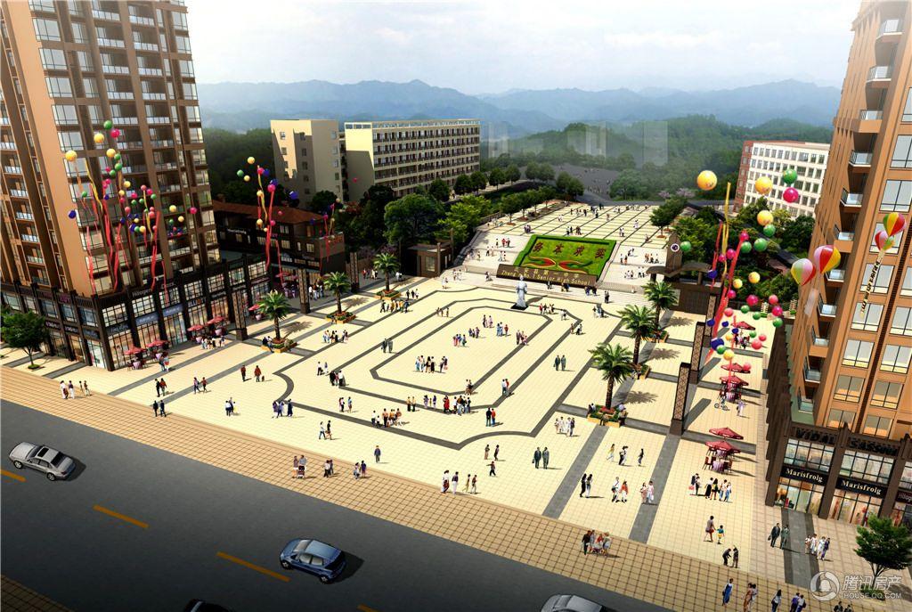 尹珍公寓项目效果图