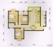 波兰尚龙城3室2厅2卫121平方米户型图