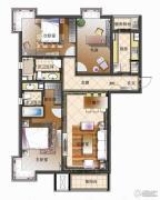 天资�Z庭3室2厅2卫145平方米户型图