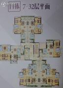 越秀滨海御城0平方米户型图