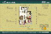 碧桂园山湖城3室2厅0卫104平方米户型图