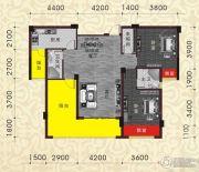 南兴盛世江南乾隆苑3室2厅2卫118平方米户型图