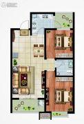 永邦天汇2室2厅1卫96平方米户型图