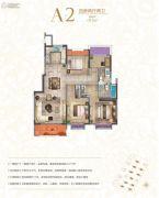 宝龙世家4室2厅2卫112平方米户型图