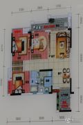 奥园春晓3室2厅1卫90平方米户型图