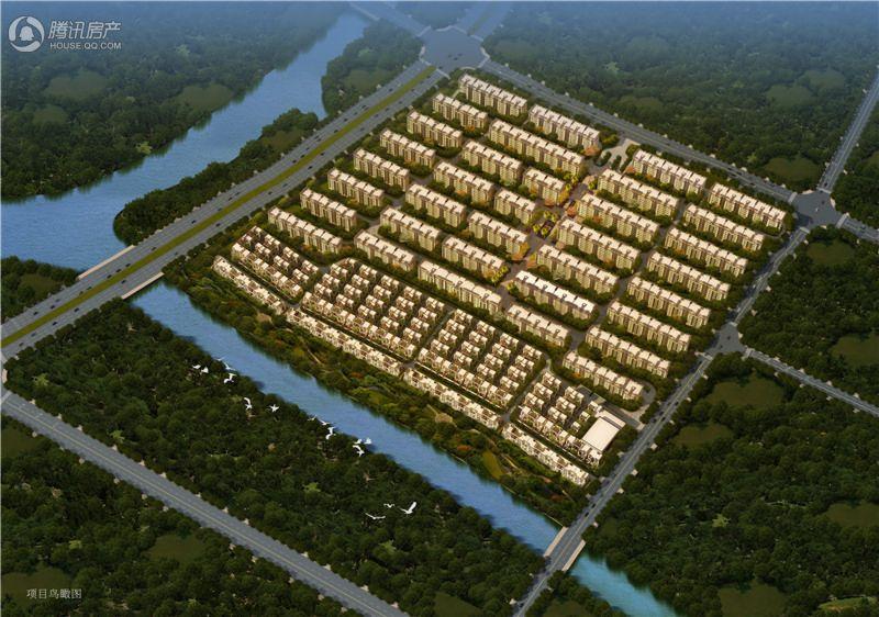 合景映月台项目-项目鸟瞰图