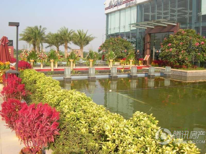 誉江华府小区景观(2010.10.31)