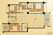 凤凰城4室2厅2卫139平方米户型图