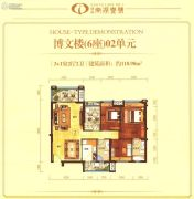 博富・南湖壹�4室2厅2卫118平方米户型图