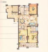 中梁永宁首府3室2厅2卫113平方米户型图